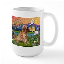 Fantasy Land Golden Mug