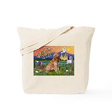 Fantasy Land Golden Tote Bag