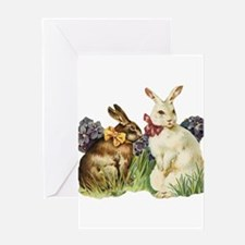 Easter rabbits Greeting Cards