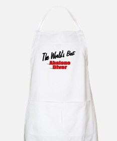 """""""The World's Best Abalone Diver"""" BBQ Apron"""