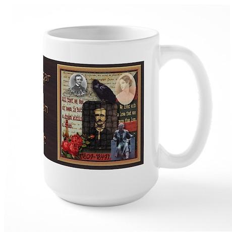 Edgar Allan Poe - Large Mug