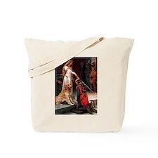 Golden Retriever in The Accollade Tote Bag