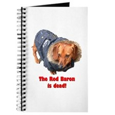The Red Baron is Dead Journal