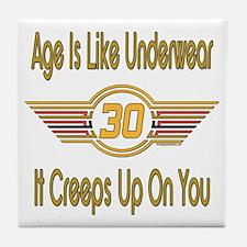 Funny 30th Birthday Tile Coaster