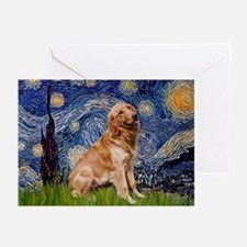 Starry / Golden (B) Greeting Cards (Pk of 10)