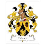 Felner Family Crest Small Poster