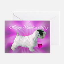 Sealyham Terrier Kiss Greeting Card