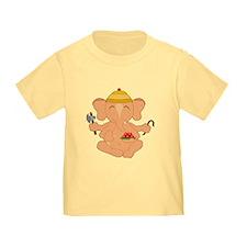 7x7_apparel_CuteGanesha T-Shirt
