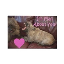 Mad About You Cairn Terrier Rectangle Magnet