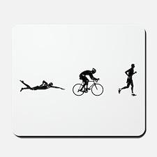 Men's Triathlon Icons Mousepad