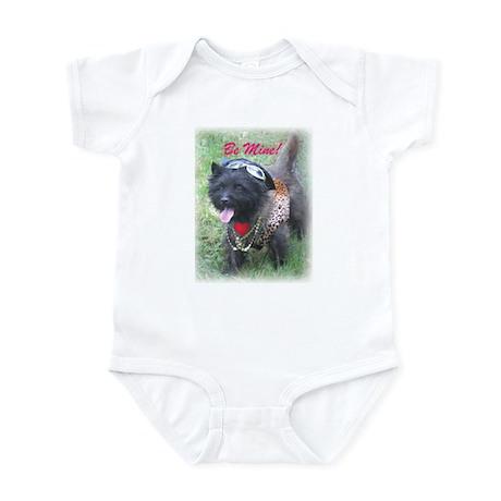 Studly Cairn Terrier Valentine Infant Bodysuit