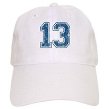 Retro 13 Number Baseball Cap