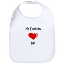 Daddies Valentine (Red) Bib