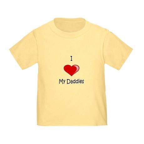 Valentine Daddies (Red) Toddler T-Shirt