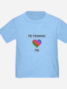 Mommies Valentine (Rainbow) T
