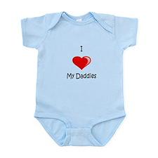 Valentine Daddies (Red) Infant Bodysuit