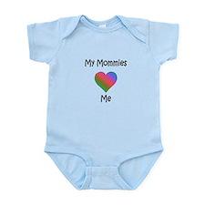 Mommies Valentine (Rainbow) Onesie