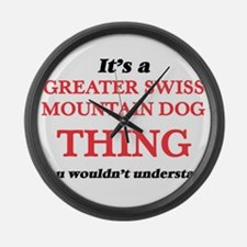 It's a Greater Swiss Mountain Large Wall Clock