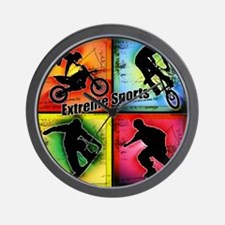 Extreme Sports Wall Clock