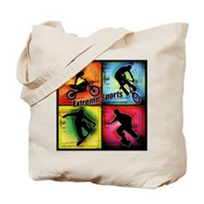 Extreme Sports Tote Bag