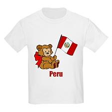 Peru Teddy Bear T-Shirt