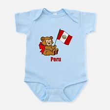 Peru Teddy Bear Onesie
