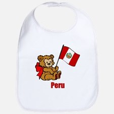 Peru Teddy Bear Bib