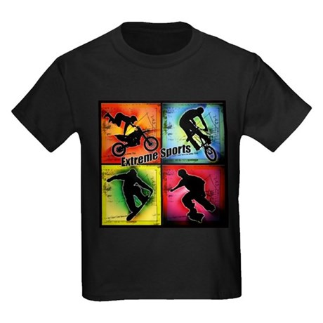 Extreme Sports Kids Dark T-Shirt