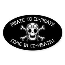 Co-Pirate Decal