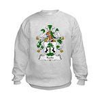 Fecht Family Crest Kids Sweatshirt
