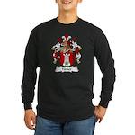 Farber Family Crest Long Sleeve Dark T-Shirt