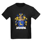 Falkenstein Family Crest Kids Dark T-Shirt