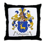 Falkenstein Family Crest Throw Pillow