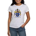 Falkenstein Family Crest Women's T-Shirt