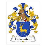 Falkenstein Family Crest Small Poster