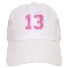 Retro 13 Number Baseball Cap