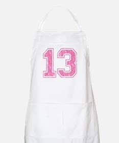 Retro 13 Number Apron