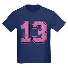 Retro 13 Number T