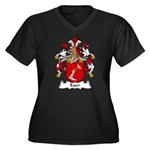 Esser Family Crest Women's Plus Size V-Neck Dark T
