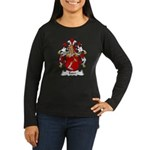Esser Family Crest Women's Long Sleeve Dark T-Shir