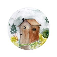 """Outhouse 3.5"""" Button (100 pack)"""