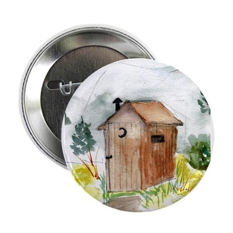 """Outhouse 2.25"""" Button (10 pack)"""