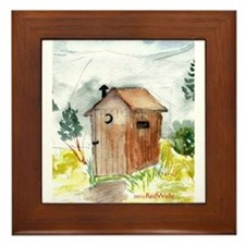Outhouse Framed Tile