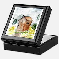 Outhouse Keepsake Box