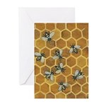 Honey Bee Greeting Cards (Pk of 10)