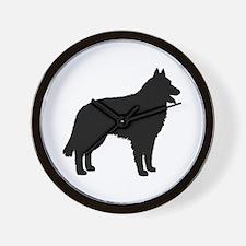 Belgian Sheepdog Wall Clock