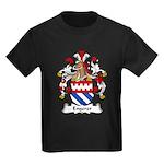 Engerer Family Crest Kids Dark T-Shirt