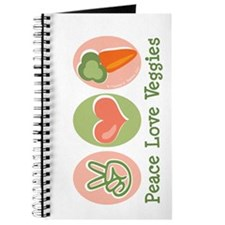 Peace Love Veggies Vegan Journal