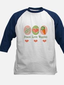 Peace Love Veggies Vegan Tee