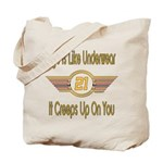 Funny 21st Birthday Tote Bag